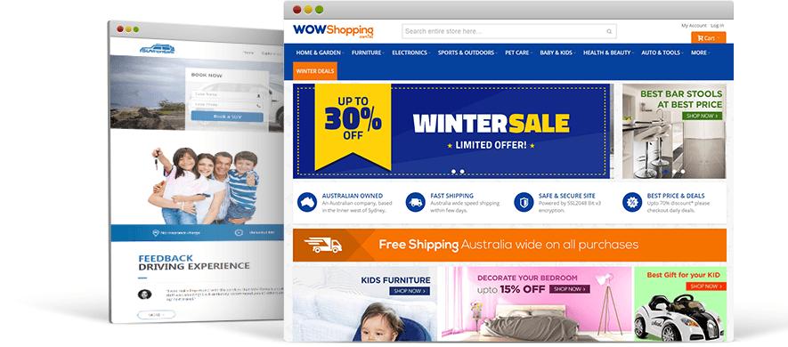 Custom Web Design Agency Australia